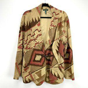Ralph Lauren Jeans Western Shawl Collar Jacket